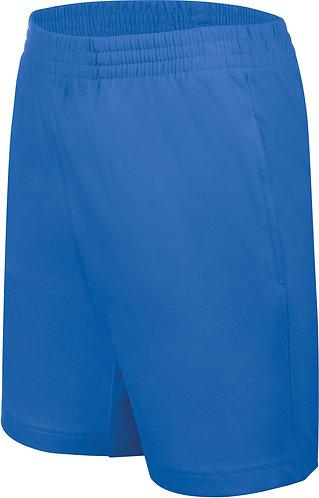 Kids Jersey Sports Shorts Royal Blue