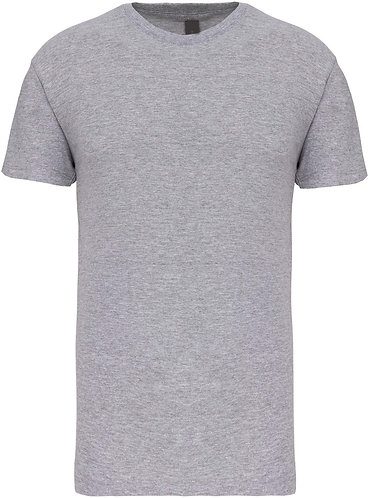 Kids Crew Neck T-shirt Oxford Grey