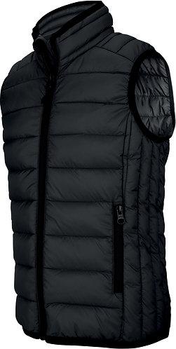 Kids Lightweight Sleeveless Padded Jacket Black
