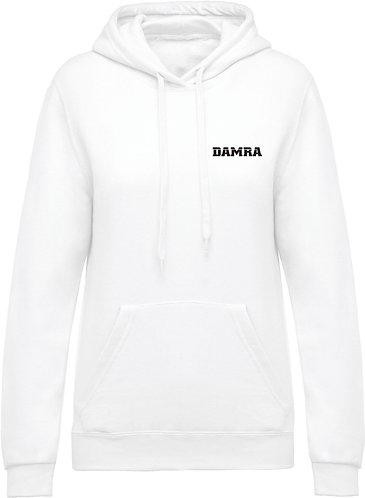 Women Hooded Sweatshirt White