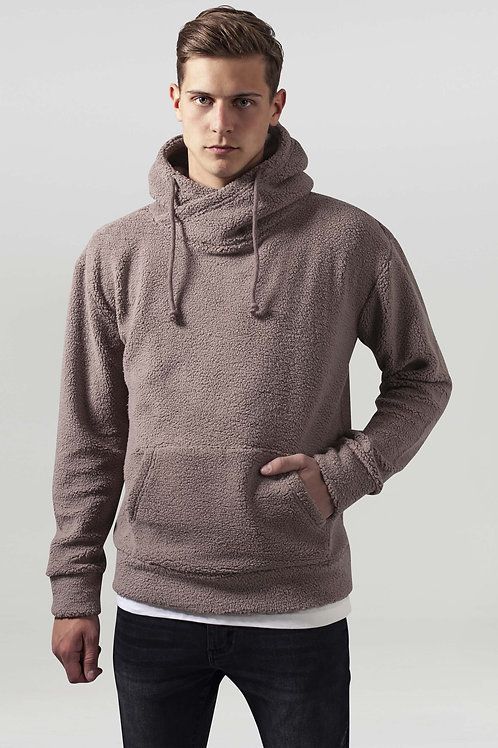 OUT - Sherpa High Neck Hoody