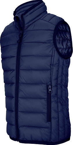 Kids Lightweight Sleeveless Padded Jacket Navy