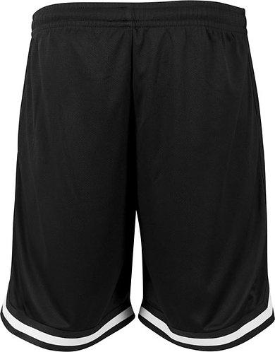 Men Two-tone Mesh Shorts