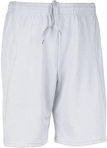 Men Short Sport White