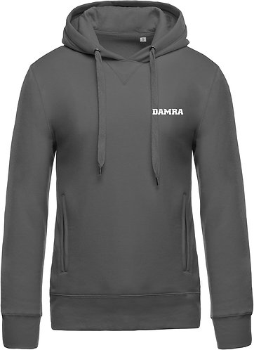 Men Organic Hooded Sweatshirt Storm Grey