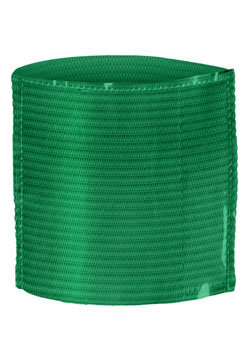 Elastic Armband With Label Holder Green