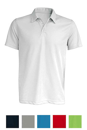 Men Shortsleeved Polo Shirt Poly