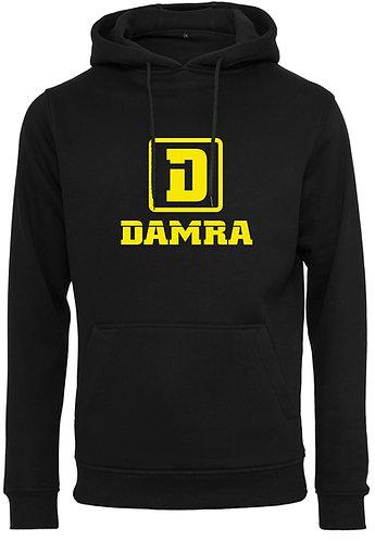 Men Hoody Logo D Damra Black
