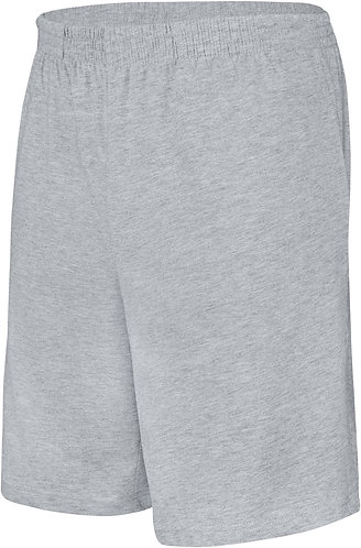 Kids Jersey Sports Shorts Oxford Grey
