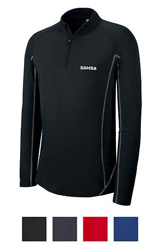 Men Zip Neck Running Sweatshirt Sport