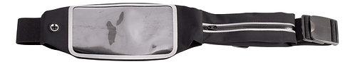 Double Pocket Smartphone Belt Black