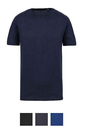 Men Short Sleeved Organic T-Shirt