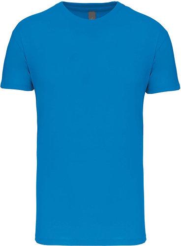 Kids Crew Neck T-shirt Tropical Blue