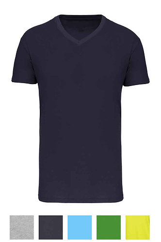 Men BIO  V-Neck T-Shirt