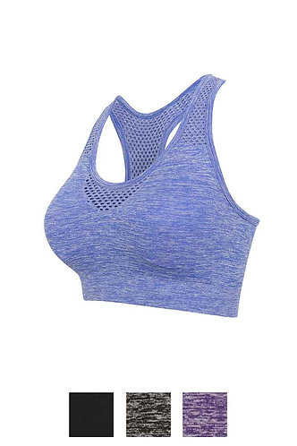 Women Seamless Sports Bra B