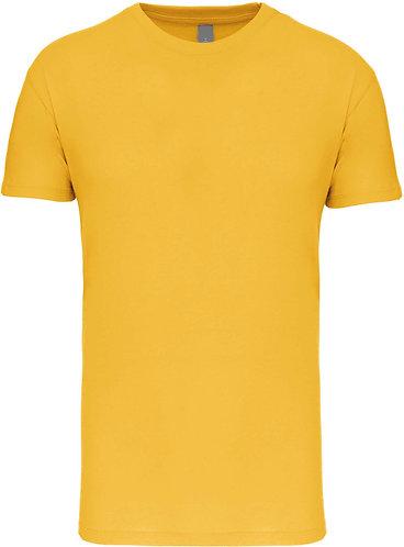 Kids Crew Neck T-shirt Yellow