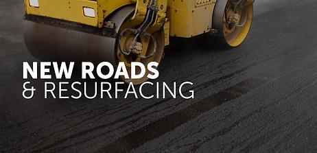 New Roads & Resurfacing   Aspho