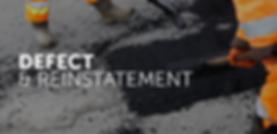 Defect & Reinstatement | Aspho