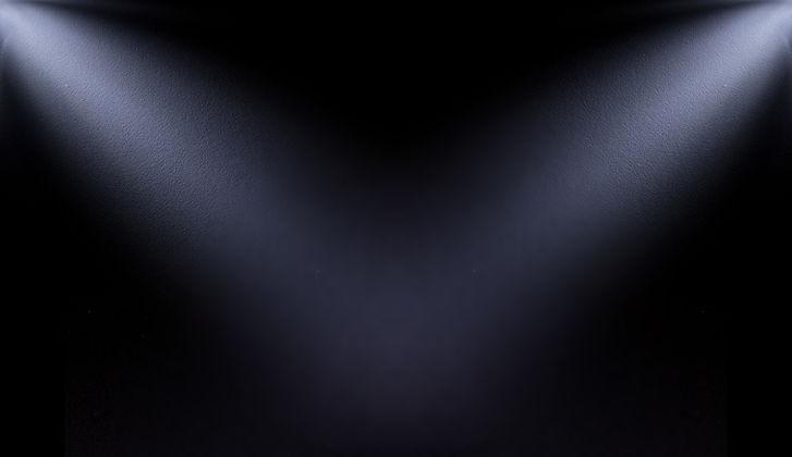 white, blur spotlight effect on black ba