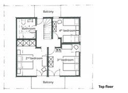 Top floor plan