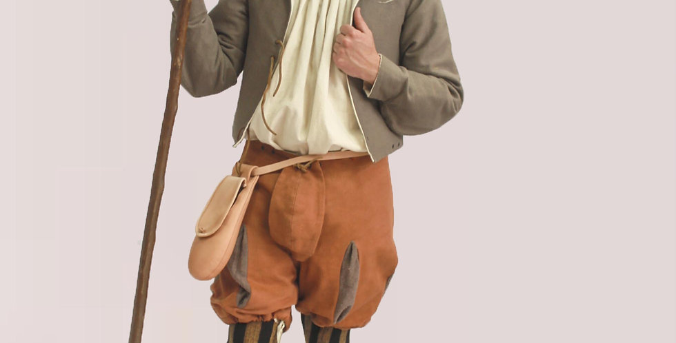 PAYSAN, pourpoint, haut de chausses, bas de chausses, chemise, chapeau