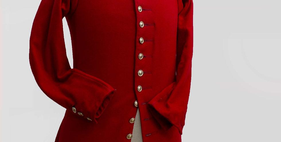 JACQUOTTE, veste courte en drap delaine, doublure en toile coton