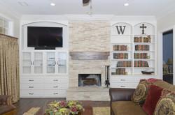 Built-in Book Shelves