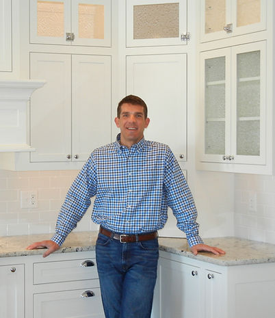 Bobby Murray in a remodeled kitchen.
