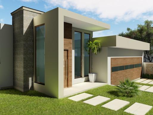 Das fachadas mais simples às mais ousadas