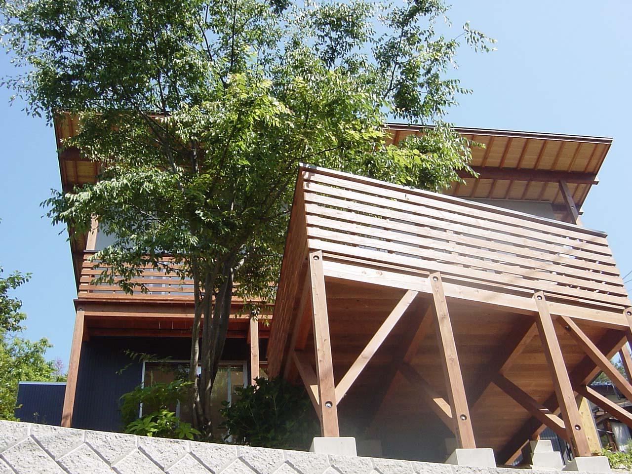 自然と調和する家