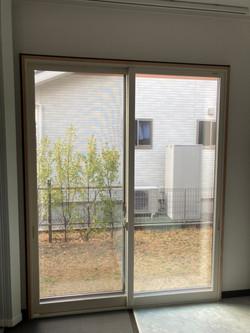 リビング窓 内窓施工