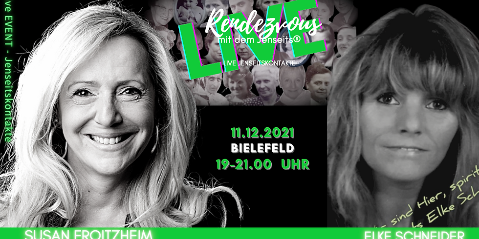 Bielefeld - LIVE EVENT - RENDEZVOUS MIT DEM JENSEITS®  11.12.21