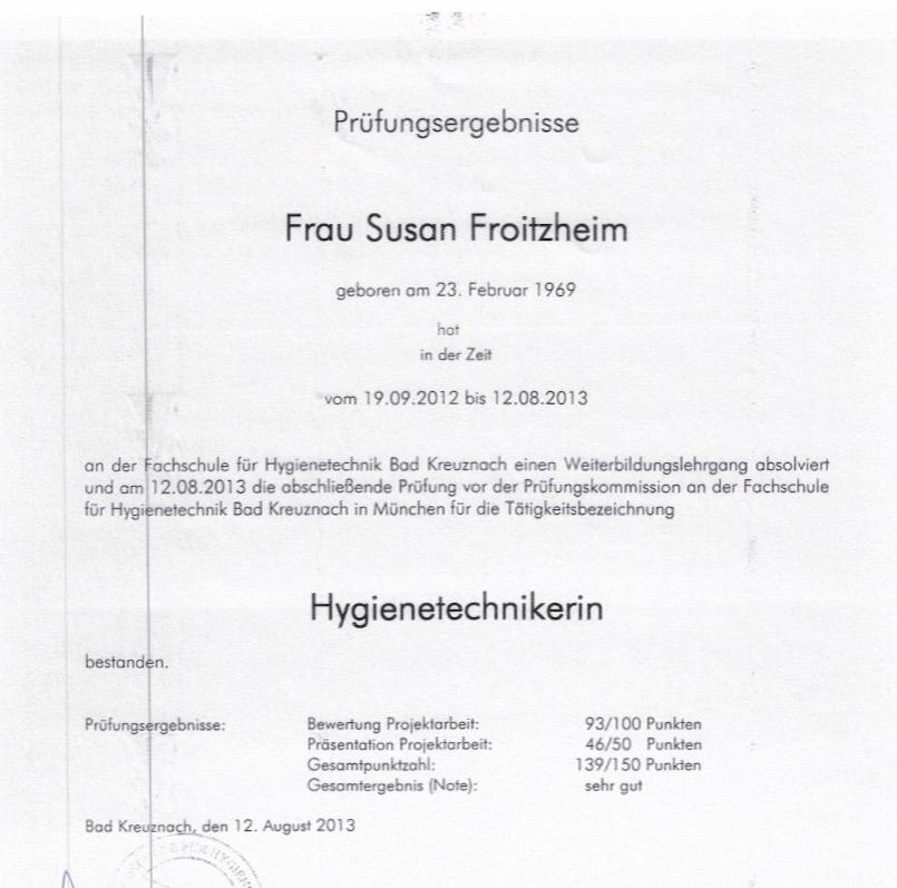 Susan Froitzheim
