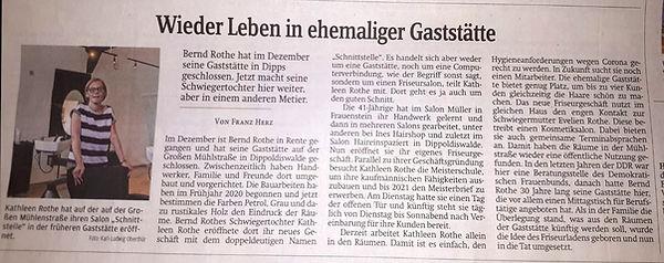 Zeitungsartikel SZ 20.06.2020_Neueröffnung SCHNITTSTELLE by KR