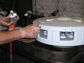 Priduction de turbines de sirènes PAKITA, Tourcoing, Moteurs Fox, France/USA