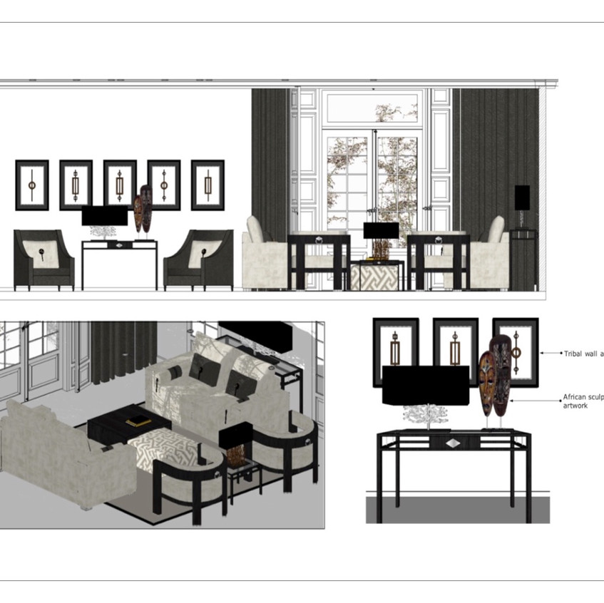 Interior decor - Res, Mayfair, London_2