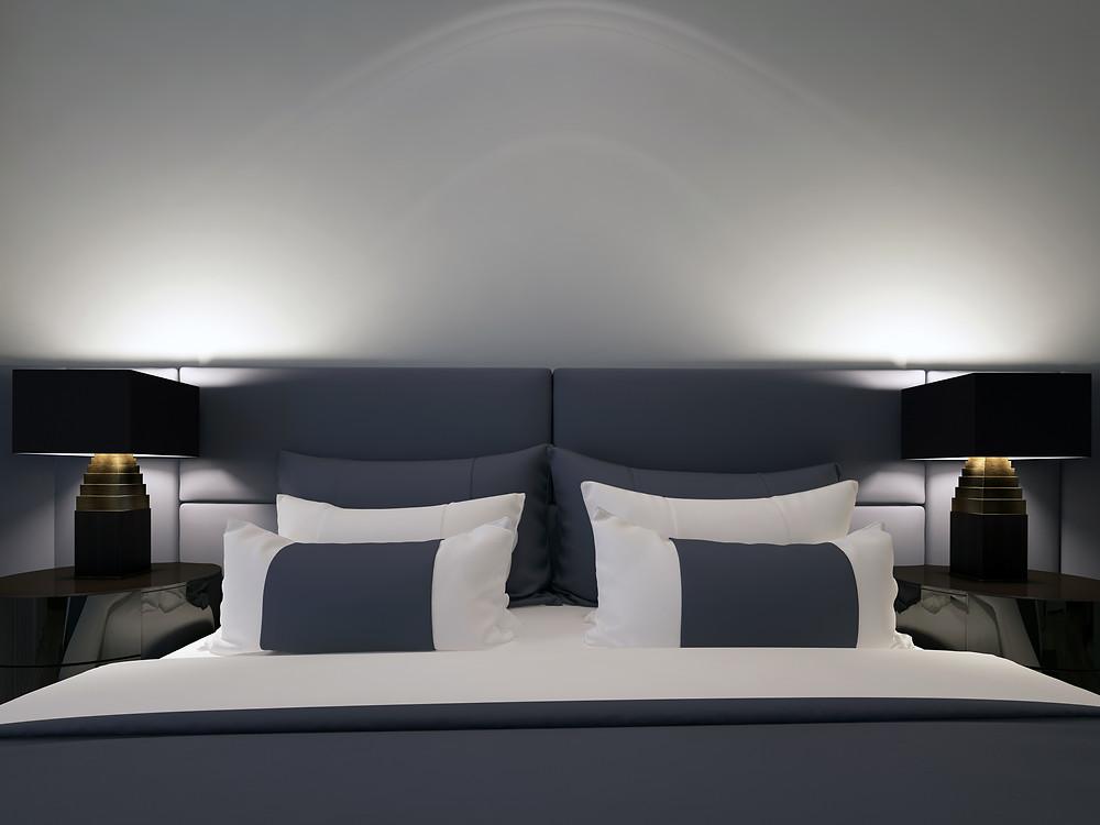 Hotel interior designers london | Bedroom