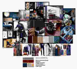 Colour scheme concept - Mevanna Prestige, Jersey