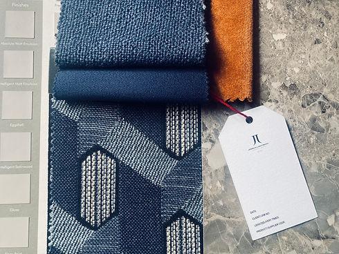 Interior decorate fabrics by jessica lig