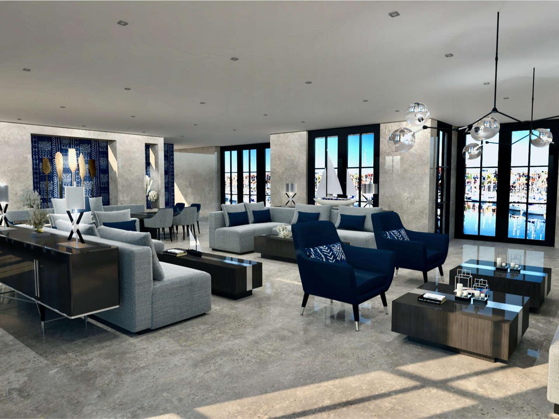 Yacht Club interior design by Jessica Li