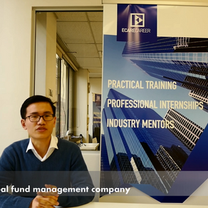 Q & A WITH ALEX ZHANG | ECARECAREERS STUDENTS SUCCESSFUL STORY