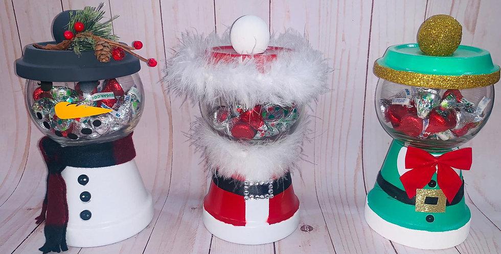Holiday Candy Jar