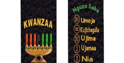 Kwanzaa Kinara   Pumpkins Kreations