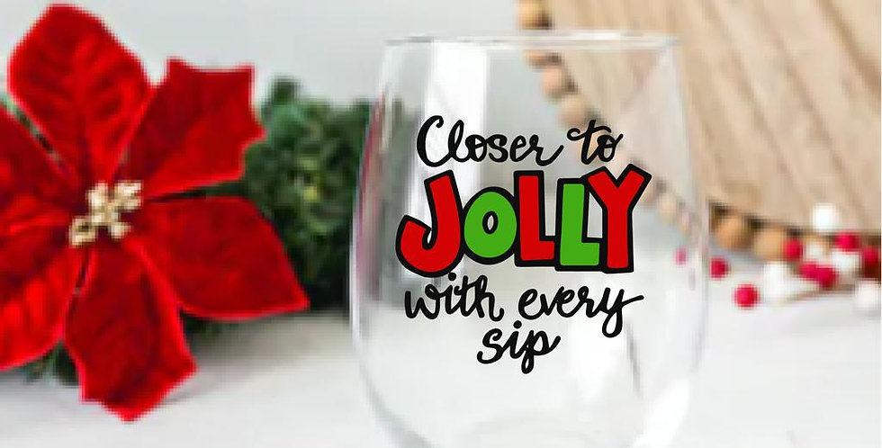 Closer to Jolly with every Sip
