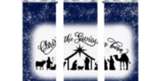 Christ The Savior Is Born Tumbler