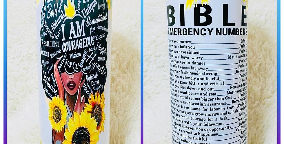 Sunflower Bible Emergency Number | Pumpkins Kreations