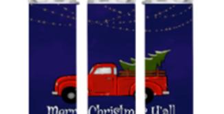 Christmas Red Truck Tumbler