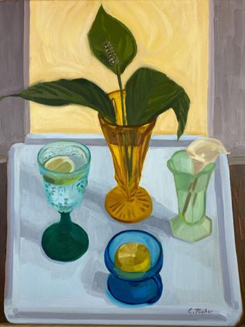 Lemon Lime and Lilies