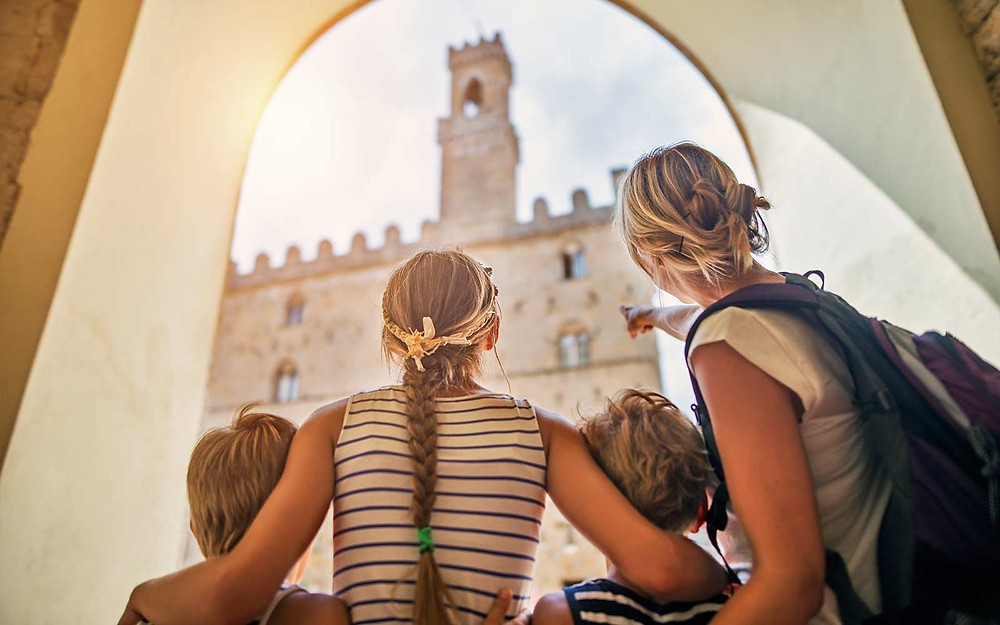 summer vacation with children