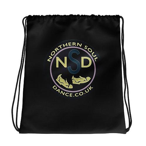 Northern Soul Dance Logo Drawstring Bag